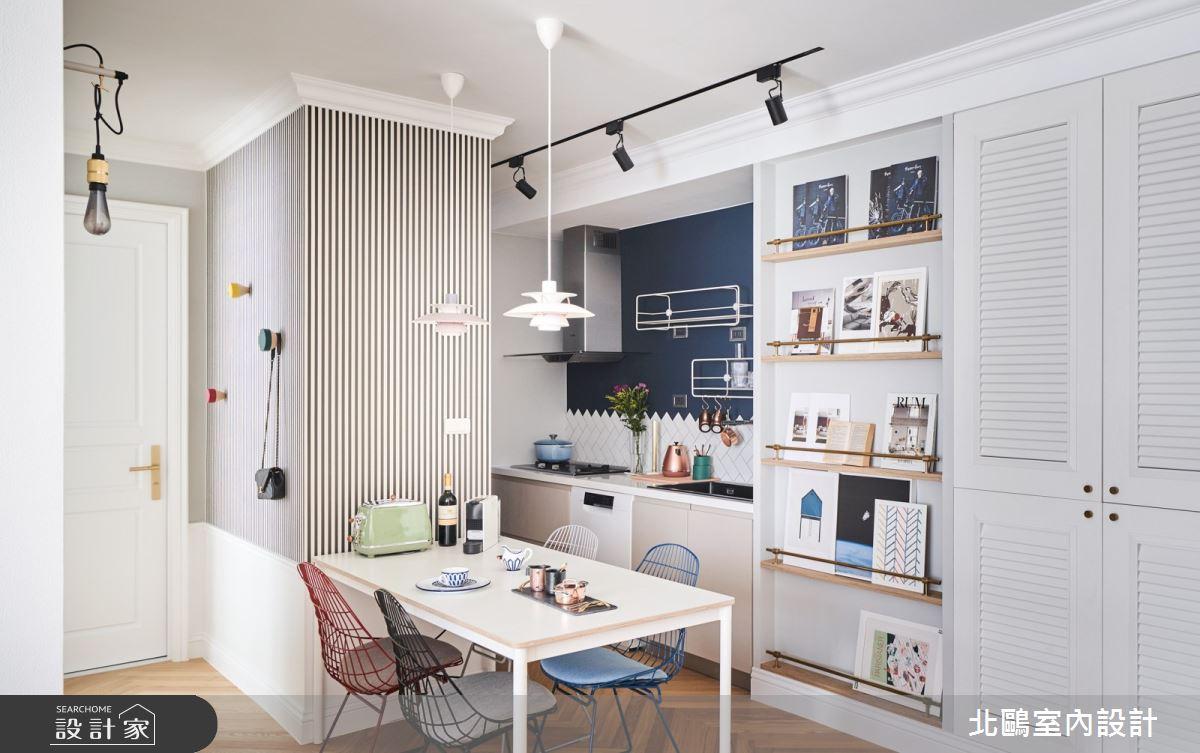 19坪新成屋(5年以下)_北歐風餐廳廚房案例圖片_北鷗室內設計_北鷗_43Princess House之12