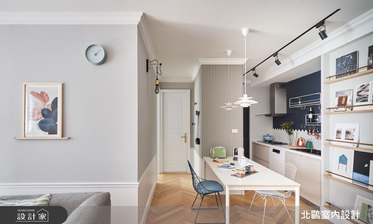 19坪新成屋(5年以下)_北歐風餐廳廚房案例圖片_北鷗室內設計_北鷗_43Princess House之13