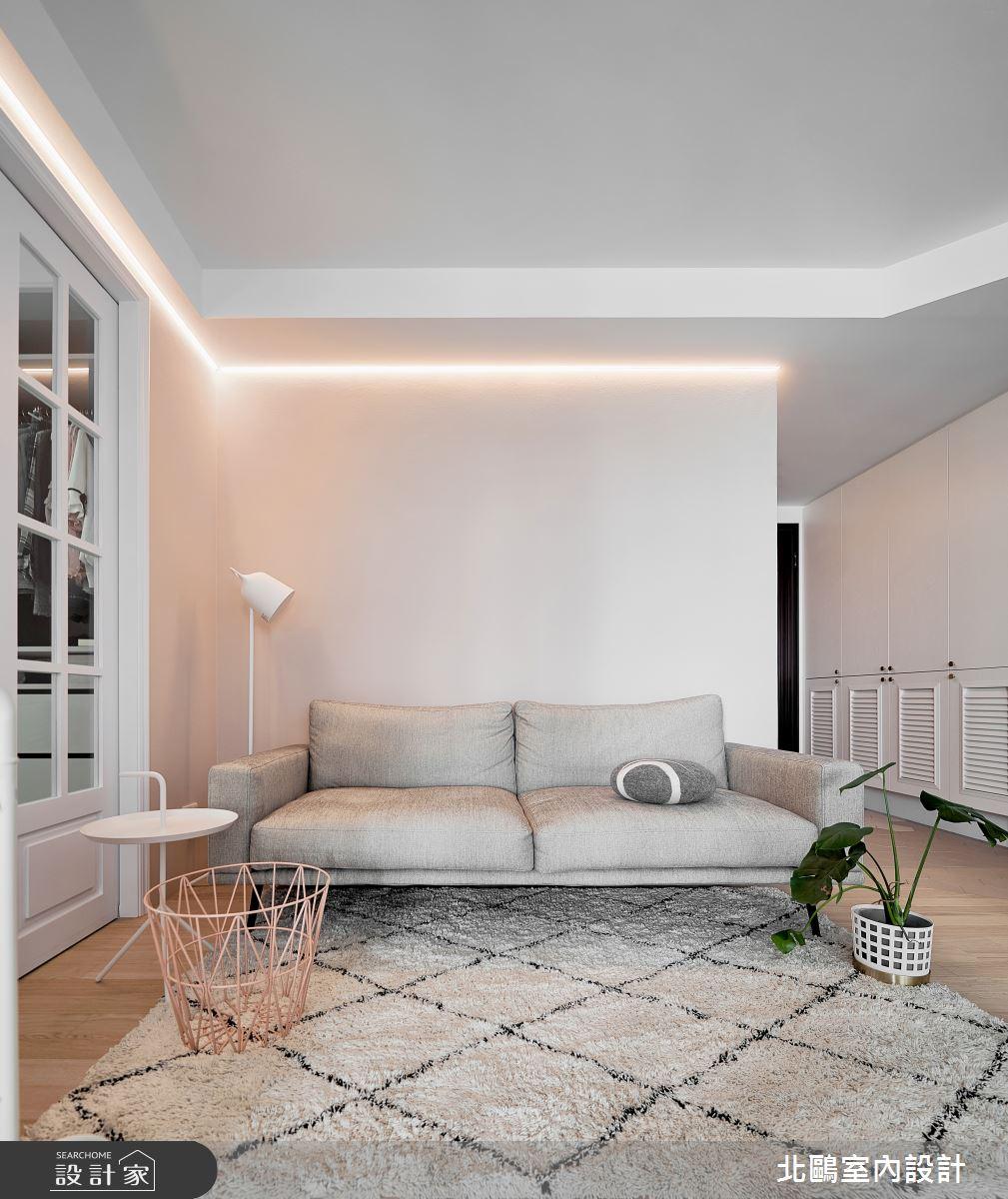 新成屋(5年以下)_北歐風客廳案例圖片_北鷗室內設計_北鷗_45Lady House之5