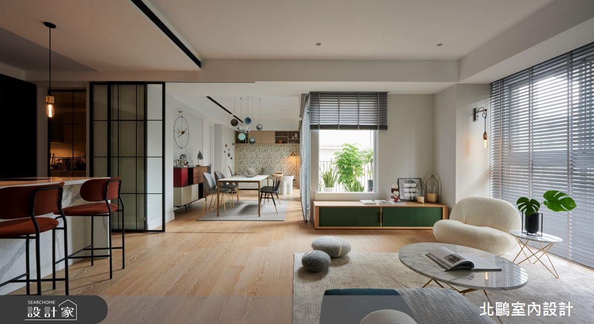 40坪中古屋(5~15年)_北歐風案例圖片_北鷗室內設計_北鷗_46Fu Fu House之3