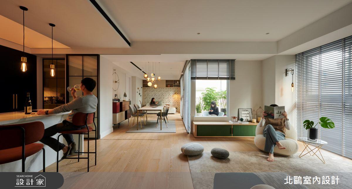 40坪中古屋(5~15年)_北歐風案例圖片_北鷗室內設計_北鷗_46Fu Fu House之4