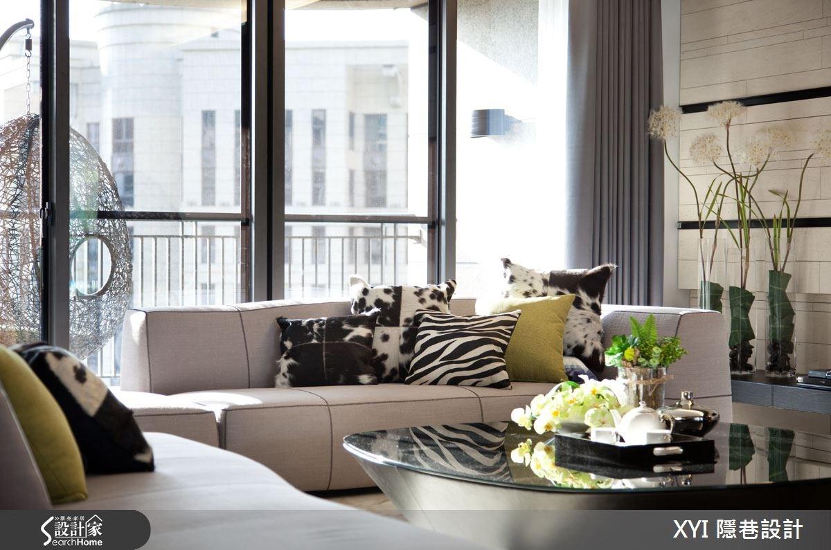 61坪_現代風客廳案例圖片_隱巷設計顧問有限公司_隱巷_24之3