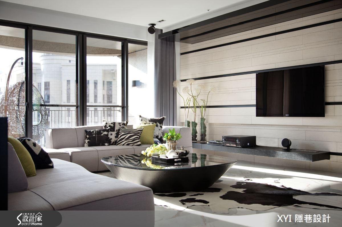 61坪_現代風客廳案例圖片_隱巷設計顧問有限公司_隱巷_24之4