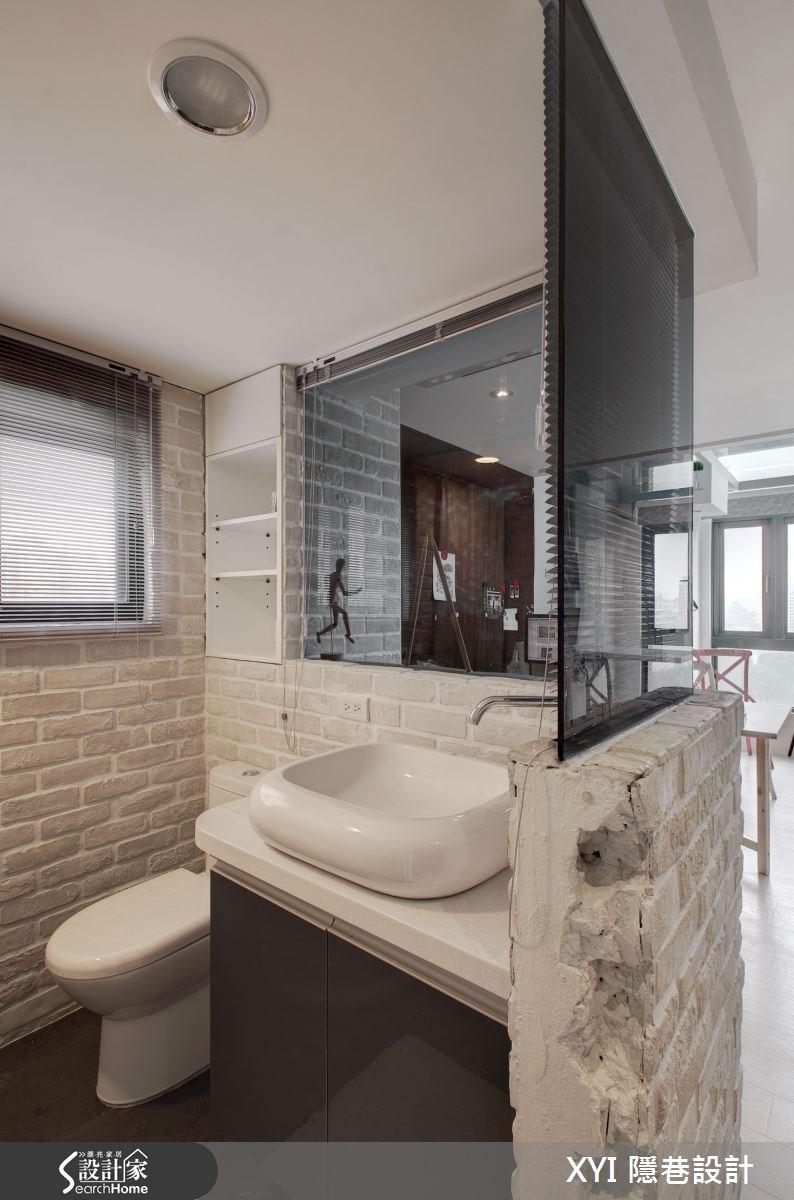 15坪_混搭風浴室案例圖片_隱巷設計顧問有限公司_隱巷_25之3