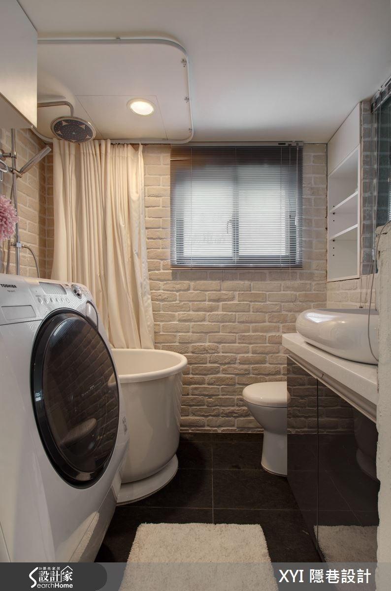 15坪_混搭風浴室案例圖片_隱巷設計顧問有限公司_隱巷_25之4