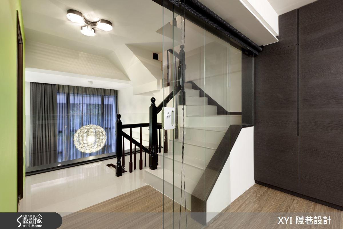 34坪老屋(16~30年)_混搭風樓梯案例圖片_隱巷設計顧問有限公司_隱巷_07之3