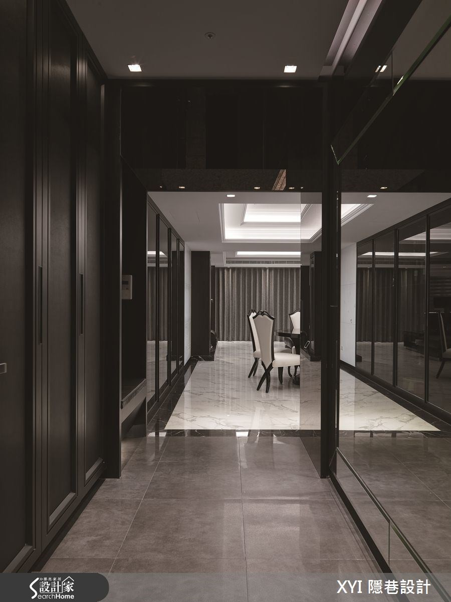 45坪新成屋(5年以下)_現代風案例圖片_隱巷設計顧問有限公司_隱巷_15之1