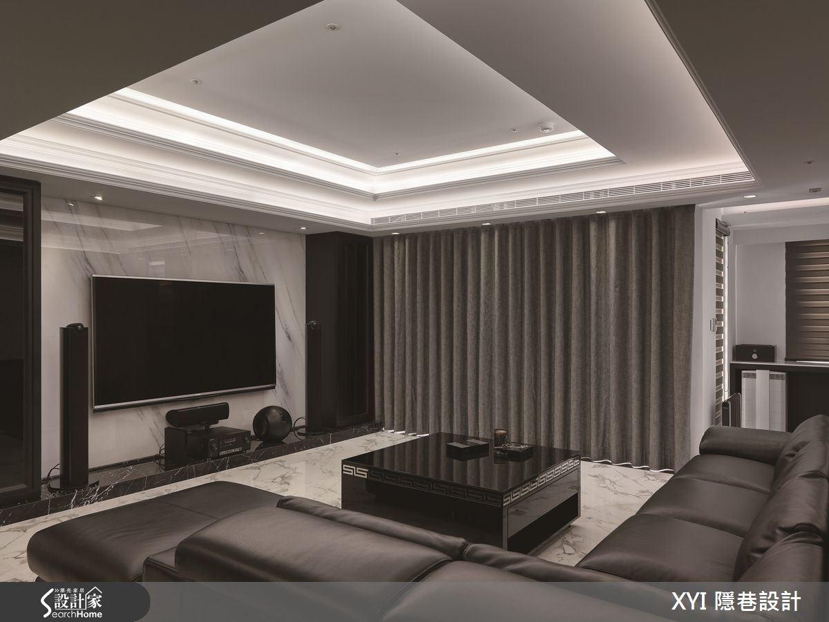 45坪新成屋(5年以下)_現代風客廳案例圖片_隱巷設計顧問有限公司_隱巷_15之6