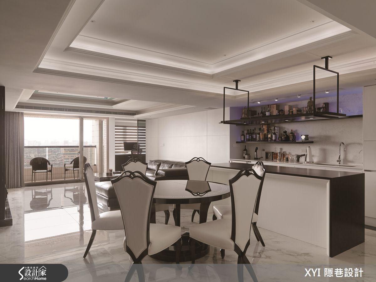 45坪新成屋(5年以下)_現代風餐廳吧檯案例圖片_隱巷設計顧問有限公司_隱巷_15之8