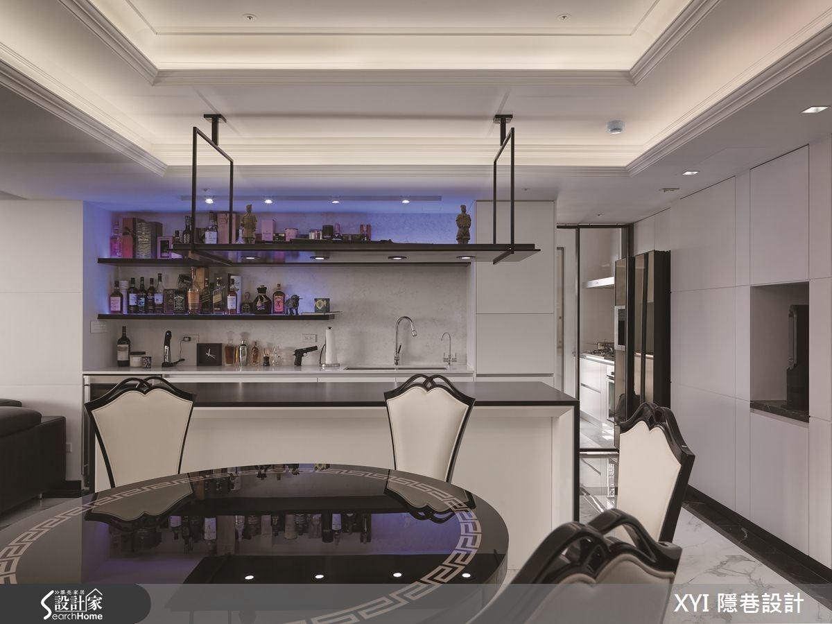45坪新成屋(5年以下)_現代風餐廳吧檯案例圖片_隱巷設計顧問有限公司_隱巷_15之11