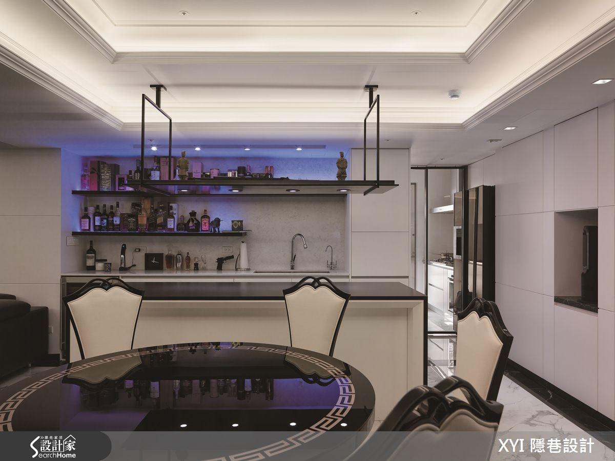 45坪新成屋(5年以下)_現代風餐廳吧檯案例圖片_隱巷設計顧問有限公司_隱巷_15之12