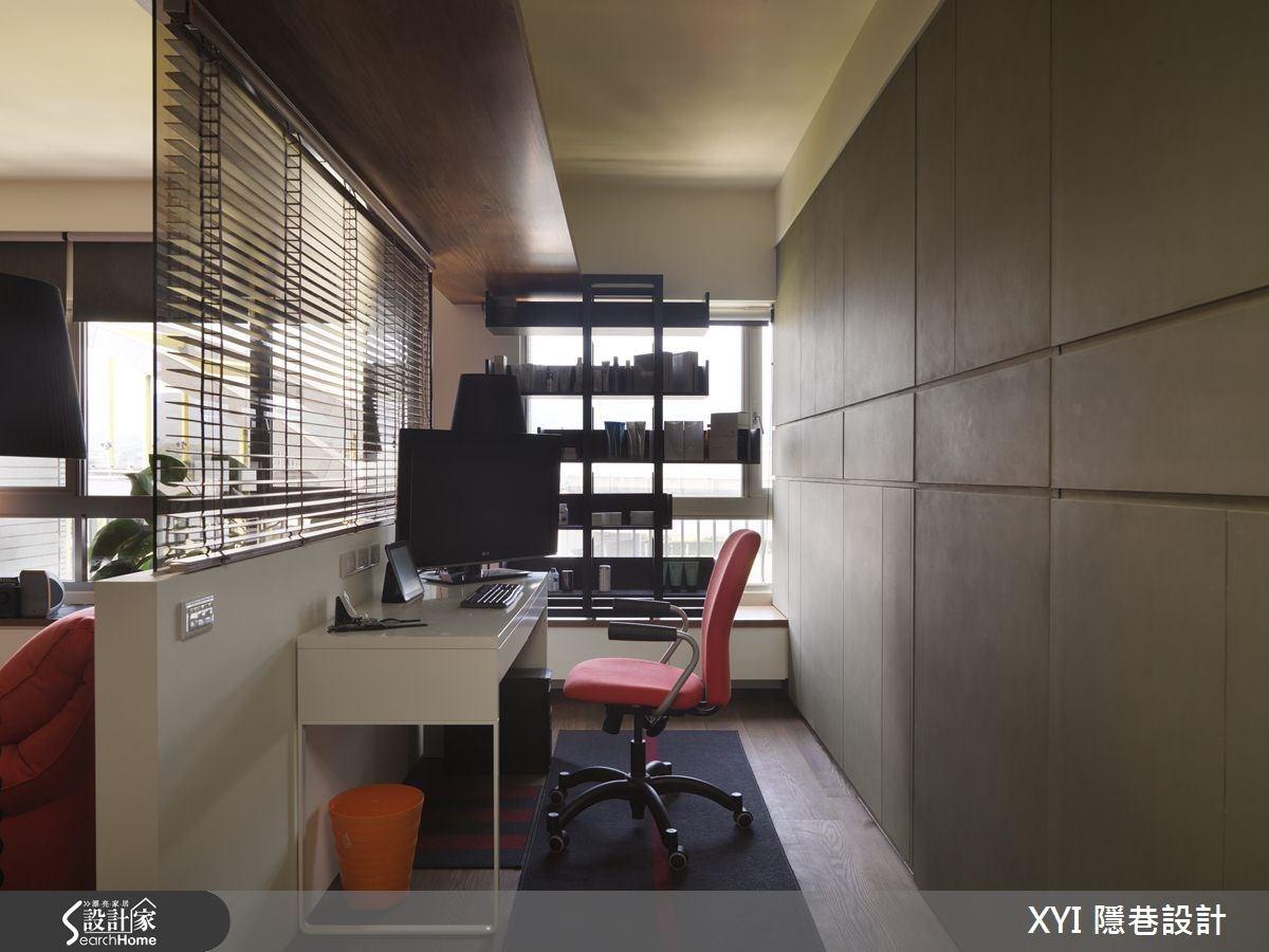 17坪新成屋(5年以下)_混搭風工作區案例圖片_隱巷設計顧問有限公司_隱巷_13之4