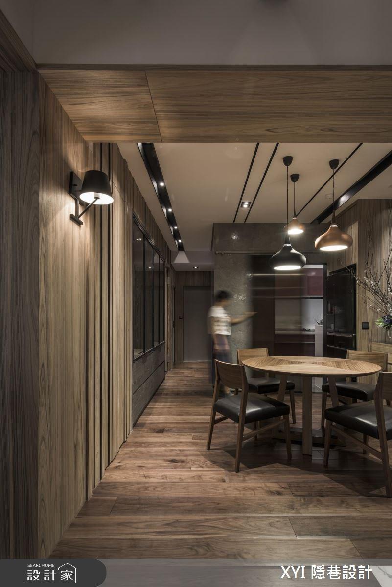 34坪老屋(16~30年)_現代風餐廳案例圖片_隱巷設計顧問有限公司_隱巷_40之4