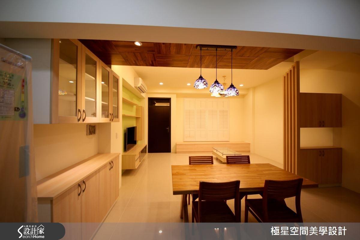 67坪新成屋(5年以下)_簡約風餐廳案例圖片_極星空間美學設計_極星_02之4