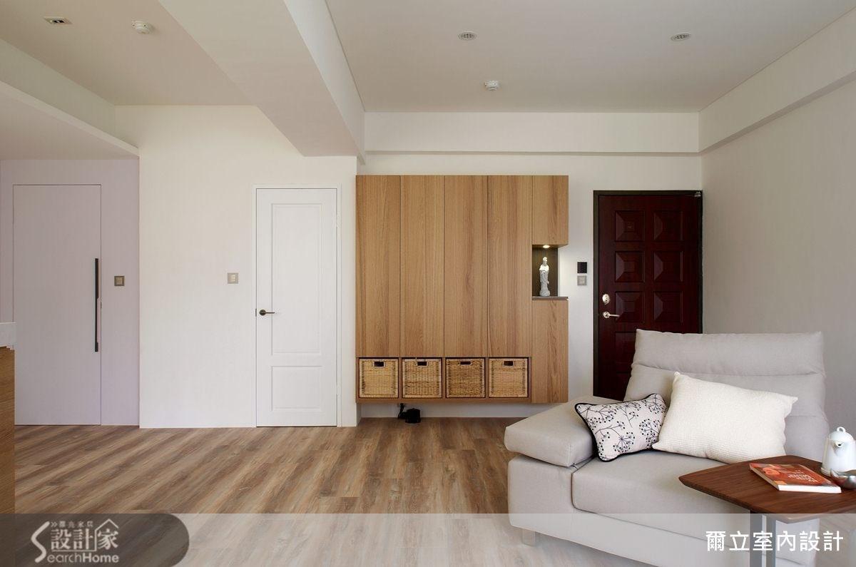 21坪中古屋(5~15年)_現代風客廳案例圖片_爾立室內設計_爾立_01之8