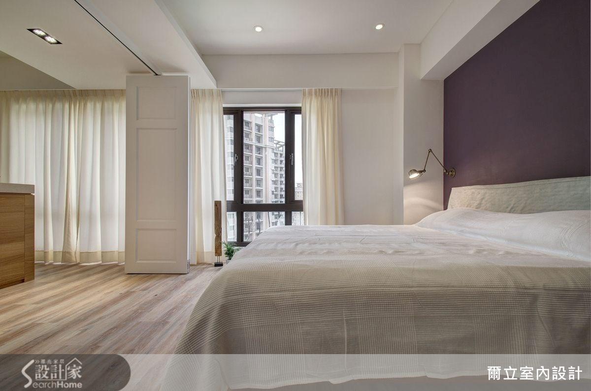21坪中古屋(5~15年)_現代風臥室案例圖片_爾立室內設計_爾立_01之11