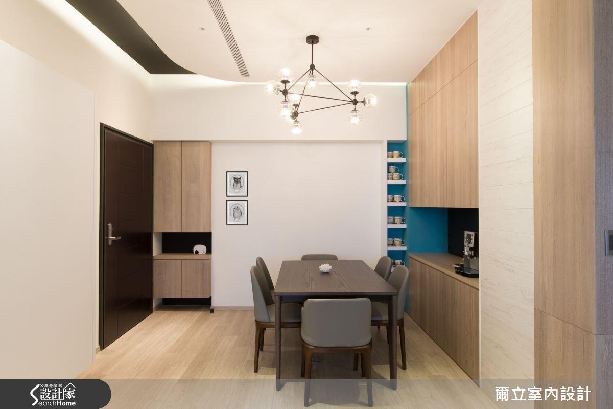 35坪_療癒風玄關案例圖片_爾立室內設計_爾立_05之1