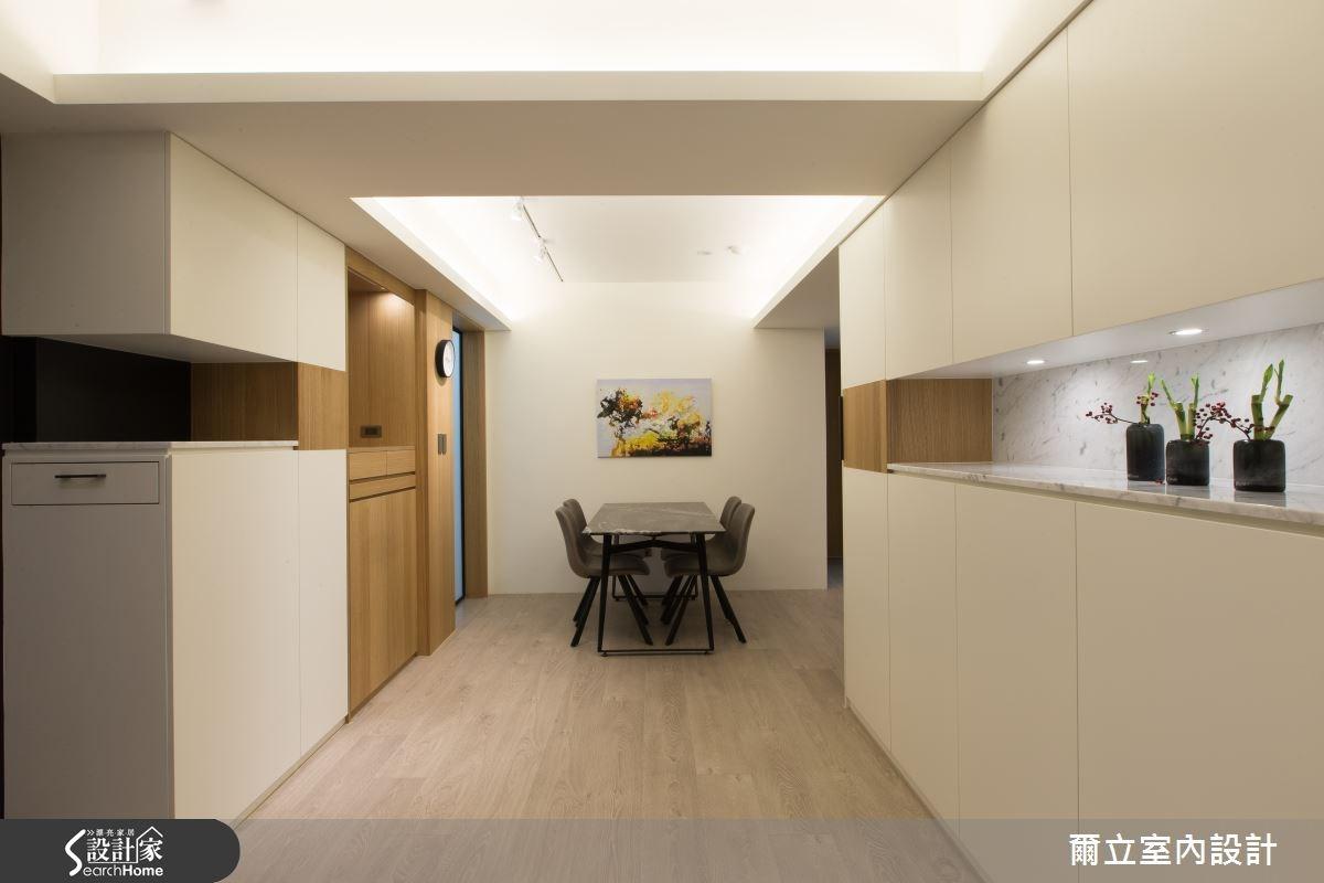 28坪老屋(16~30年)_簡約風案例圖片_爾立室內設計_爾立_06之3
