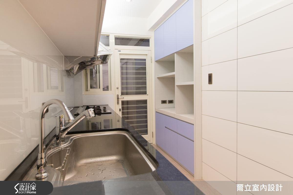 28坪老屋(16~30年)_簡約風廚房案例圖片_爾立室內設計_爾立_06之6