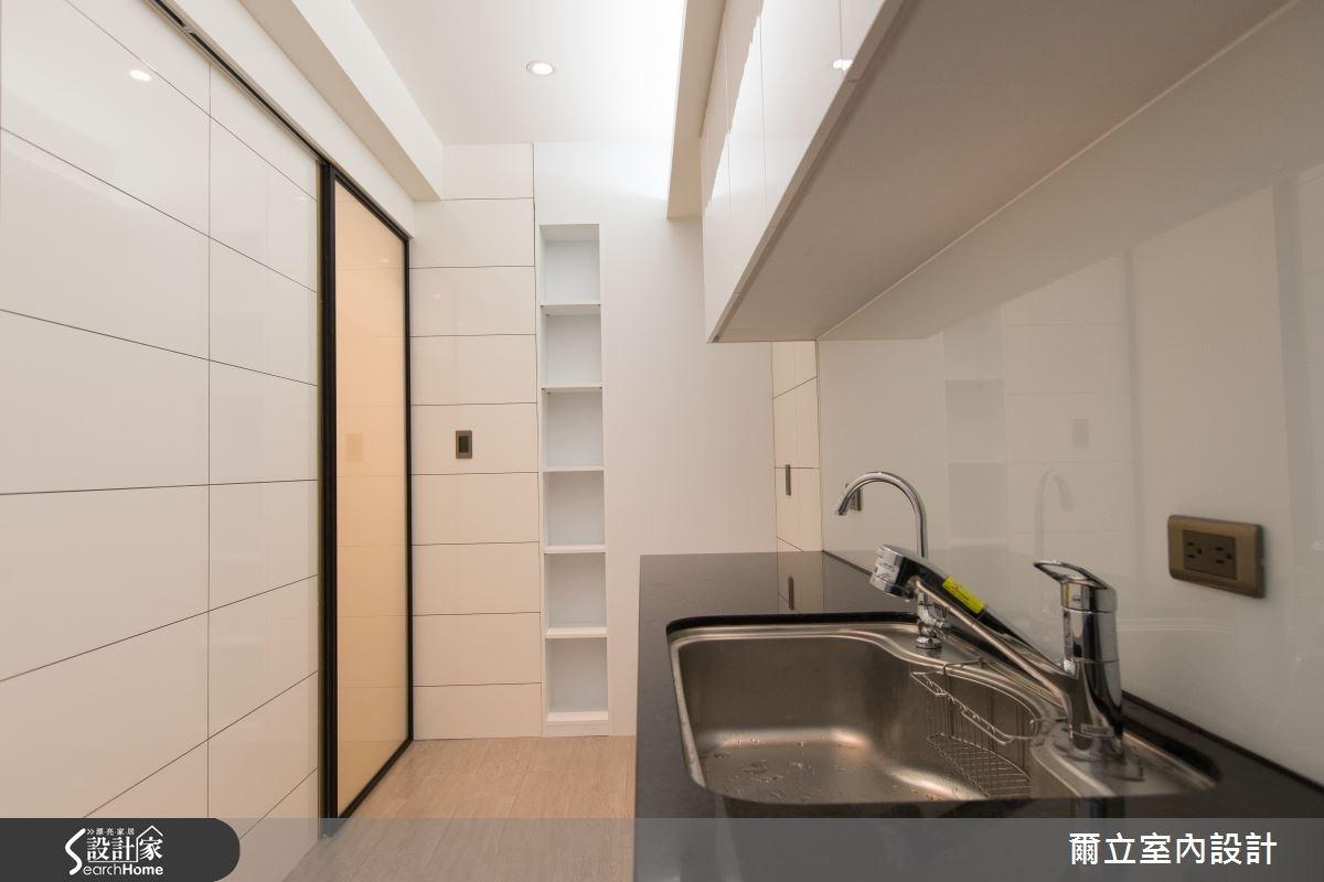 28坪老屋(16~30年)_簡約風廚房案例圖片_爾立室內設計_爾立_06之7