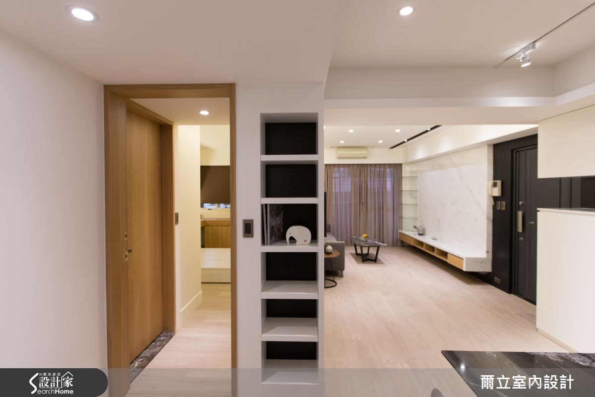 28坪老屋(16~30年)_簡約風案例圖片_爾立室內設計_爾立_06之8