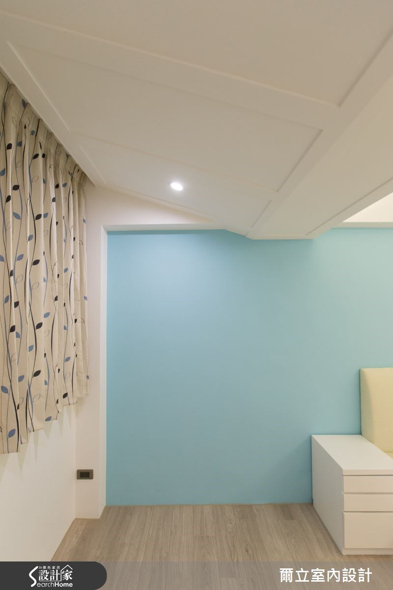 28坪老屋(16~30年)_簡約風臥室案例圖片_爾立室內設計_爾立_06之9