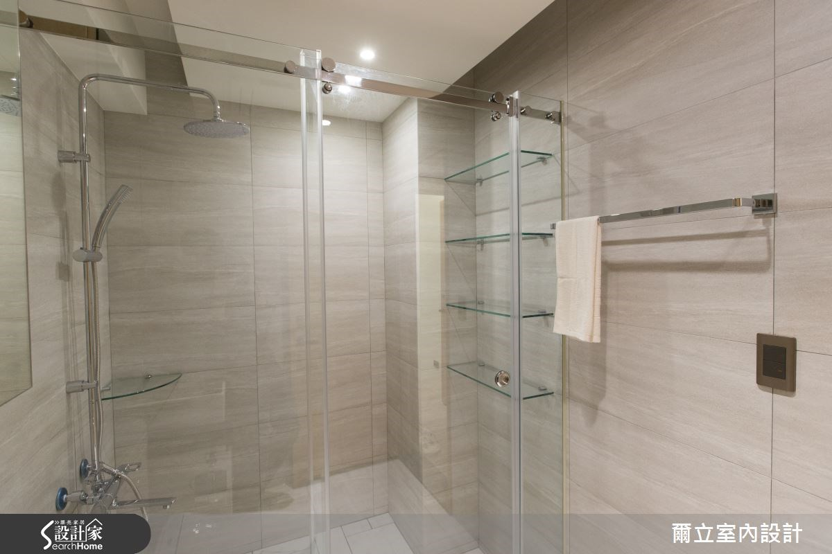 28坪老屋(16~30年)_簡約風浴室案例圖片_爾立室內設計_爾立_06之14