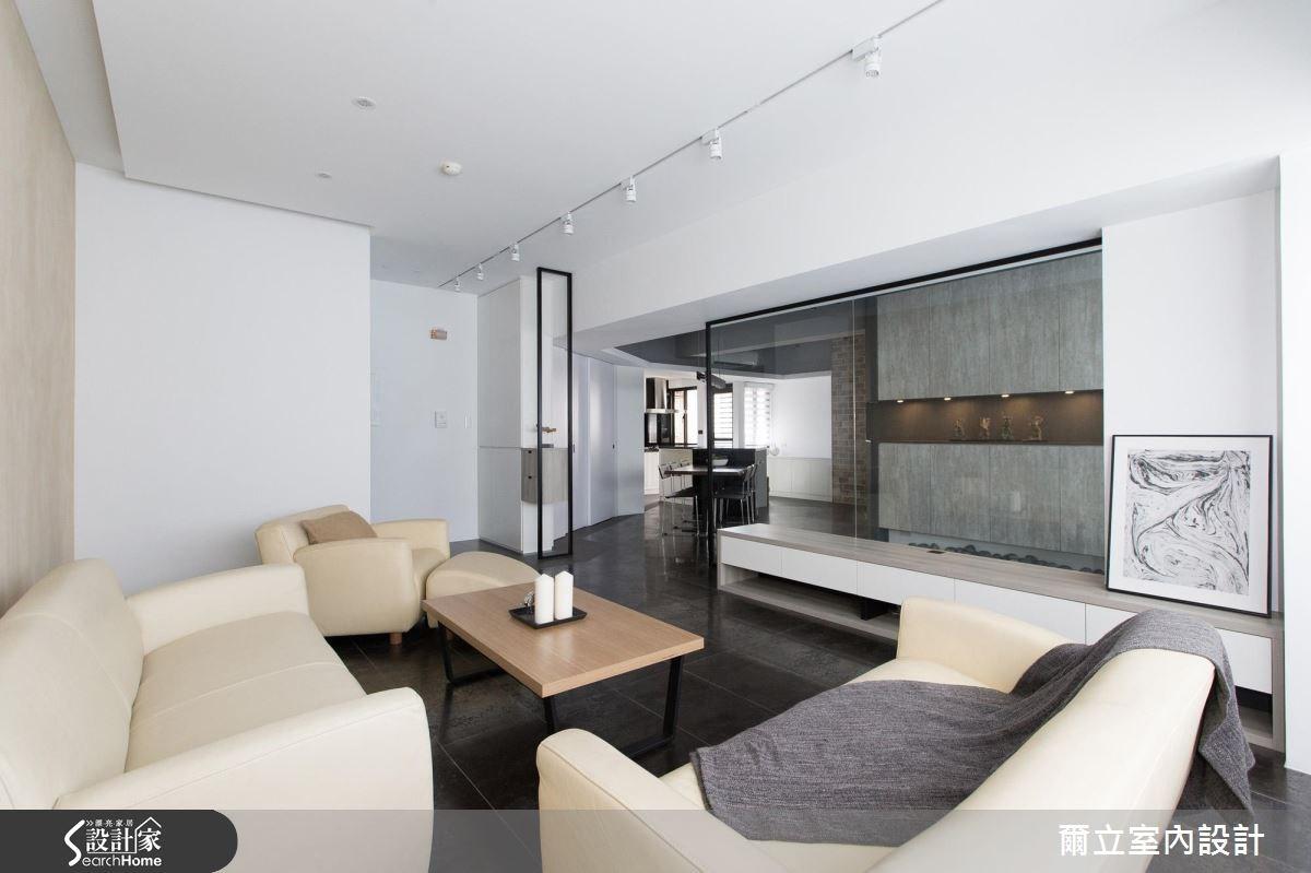 40坪老屋(16~30年)_混搭風客廳案例圖片_爾立室內設計_爾立_08之3