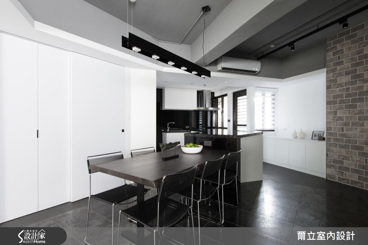 40坪老屋(16~30年)_混搭風餐廳案例圖片_爾立室內設計_爾立_08之5