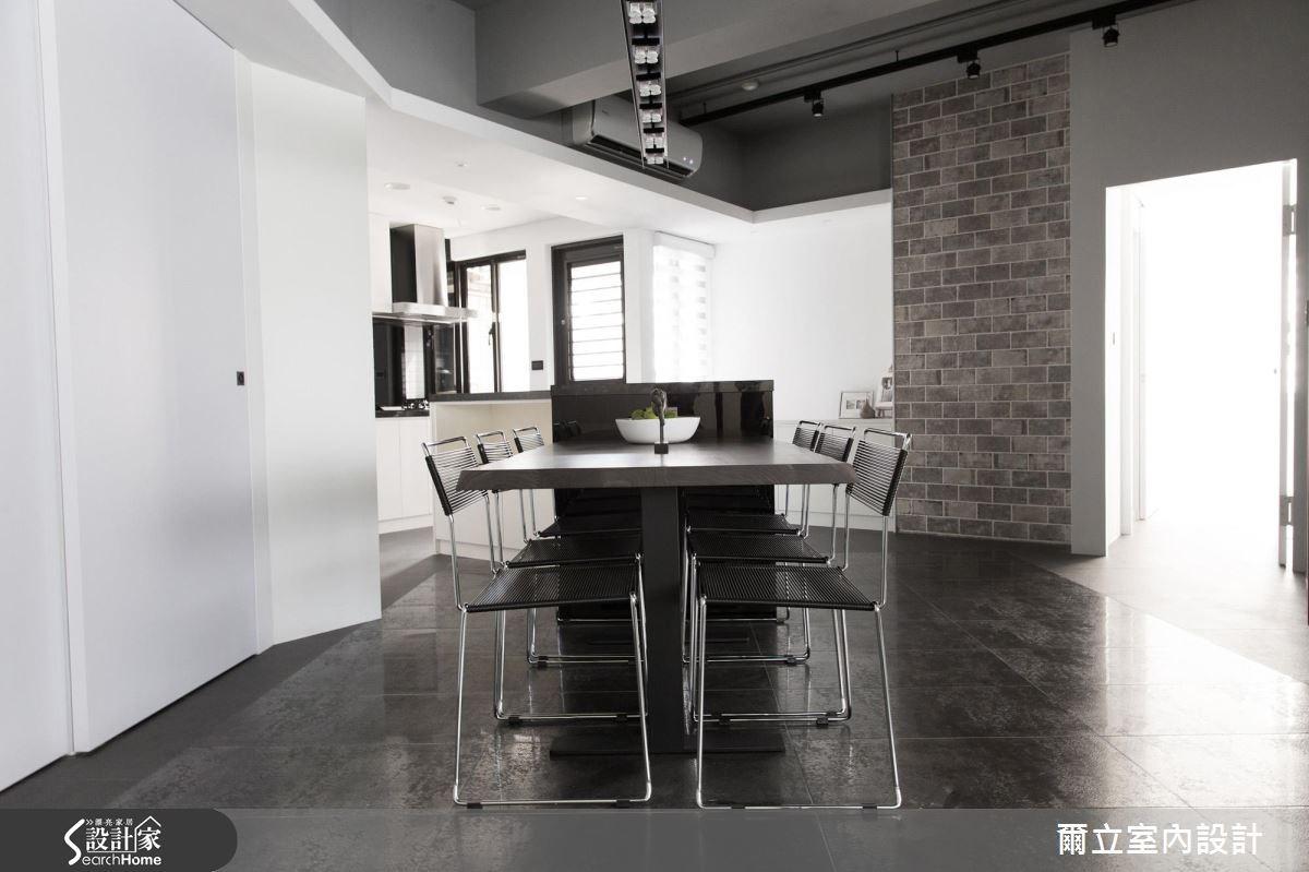 40坪老屋(16~30年)_混搭風餐廳案例圖片_爾立室內設計_爾立_08之6