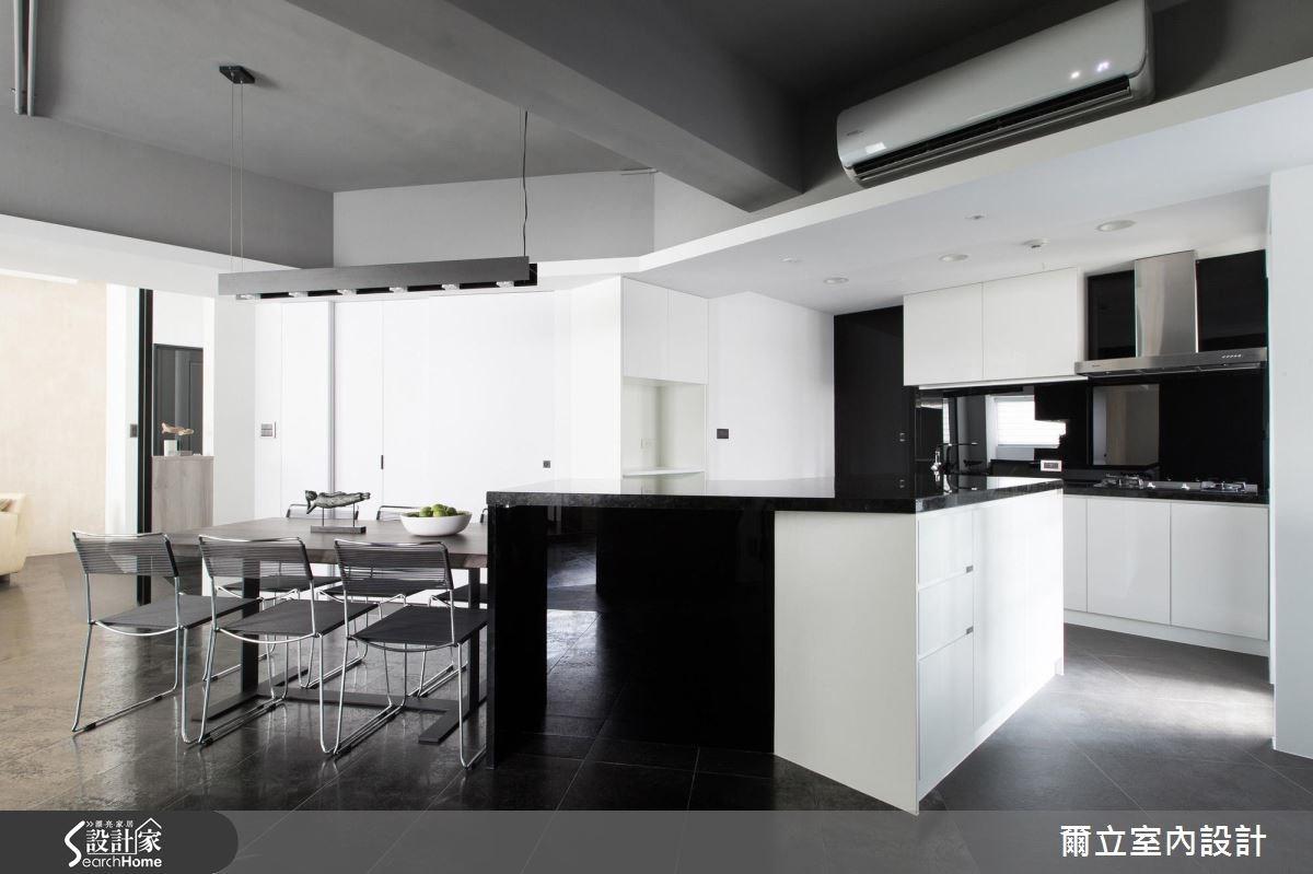 40坪老屋(16~30年)_混搭風餐廳廚房案例圖片_爾立室內設計_爾立_08之7