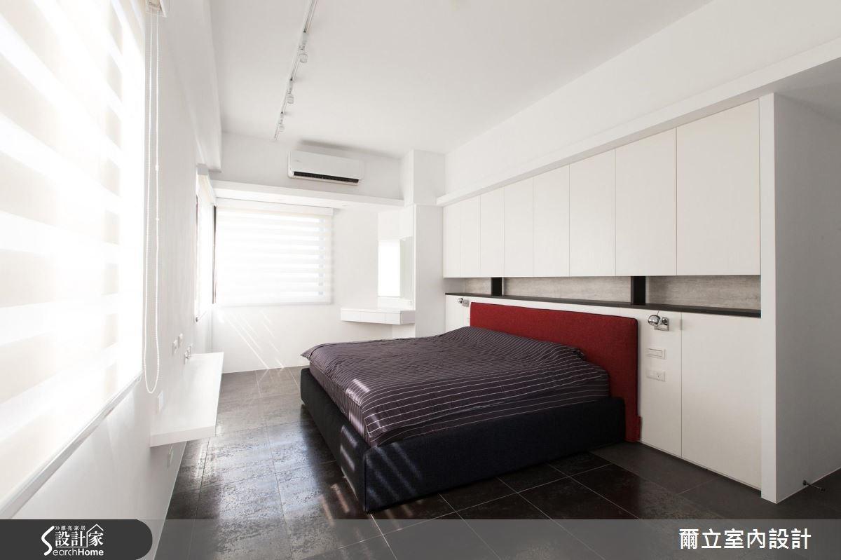 40坪老屋(16~30年)_混搭風臥室案例圖片_爾立室內設計_爾立_08之12
