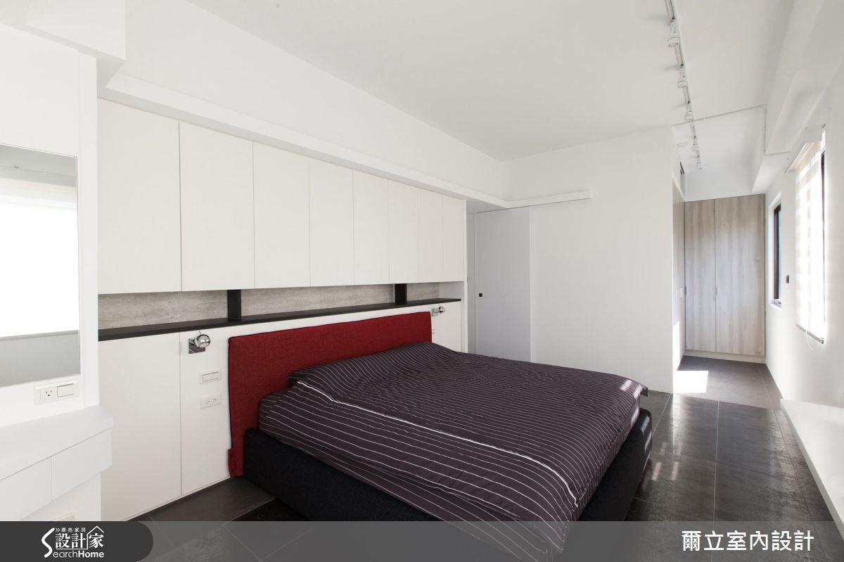 40坪老屋(16~30年)_混搭風臥室案例圖片_爾立室內設計_爾立_08之13