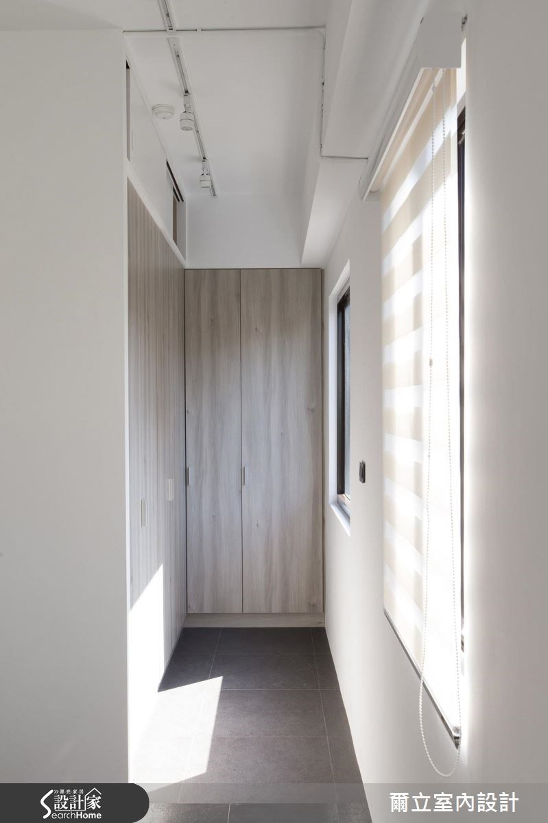 40坪老屋(16~30年)_混搭風臥室案例圖片_爾立室內設計_爾立_08之14