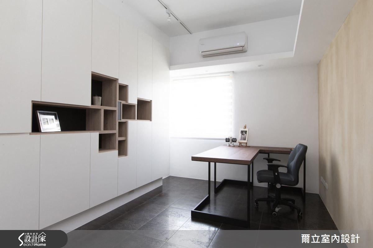 40坪老屋(16~30年)_混搭風書房案例圖片_爾立室內設計_爾立_08之15