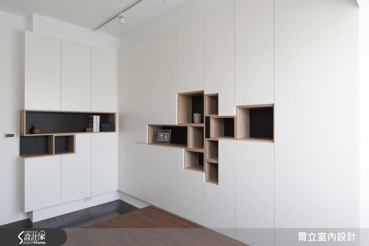 40坪老屋(16~30年)_混搭風書房案例圖片_爾立室內設計_爾立_08之16