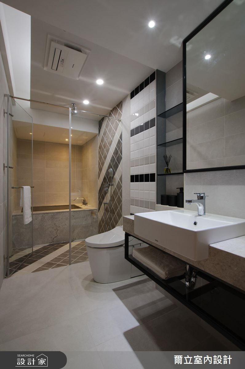 65坪新成屋(5年以下)_簡約風浴室案例圖片_爾立室內設計_爾立_12之26