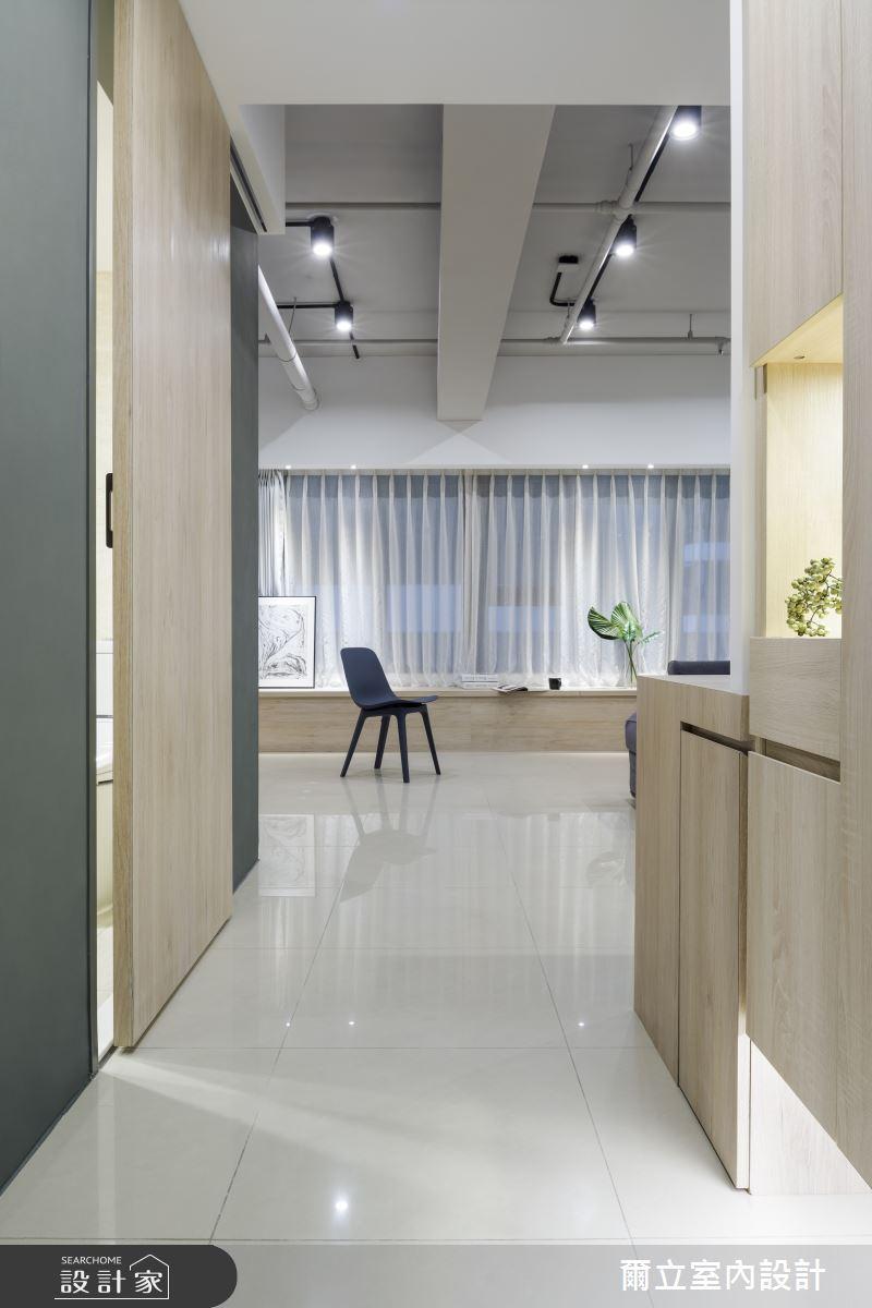 25坪新成屋(5年以下)_簡約風玄關案例圖片_爾立室內設計_爾立_15之1