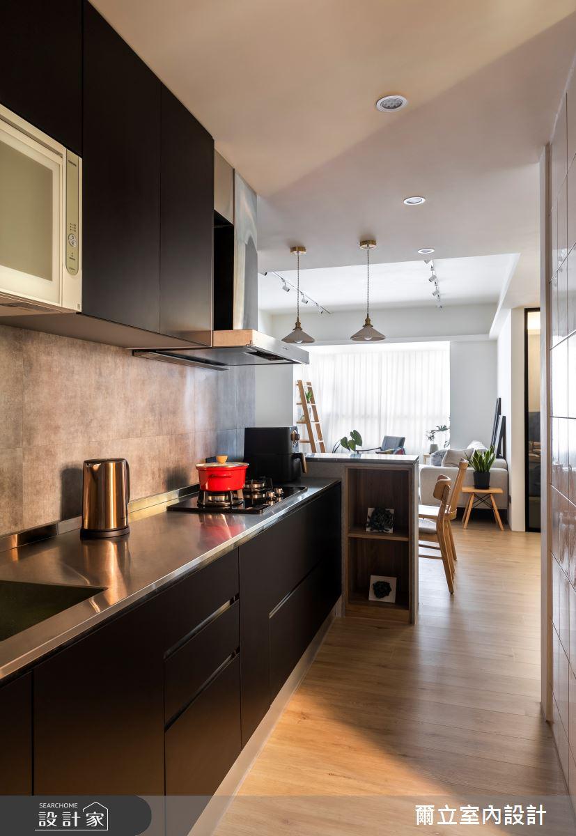 40坪中古屋(5~15年)_混搭風餐廳案例圖片_爾立室內設計_爾立_16之7