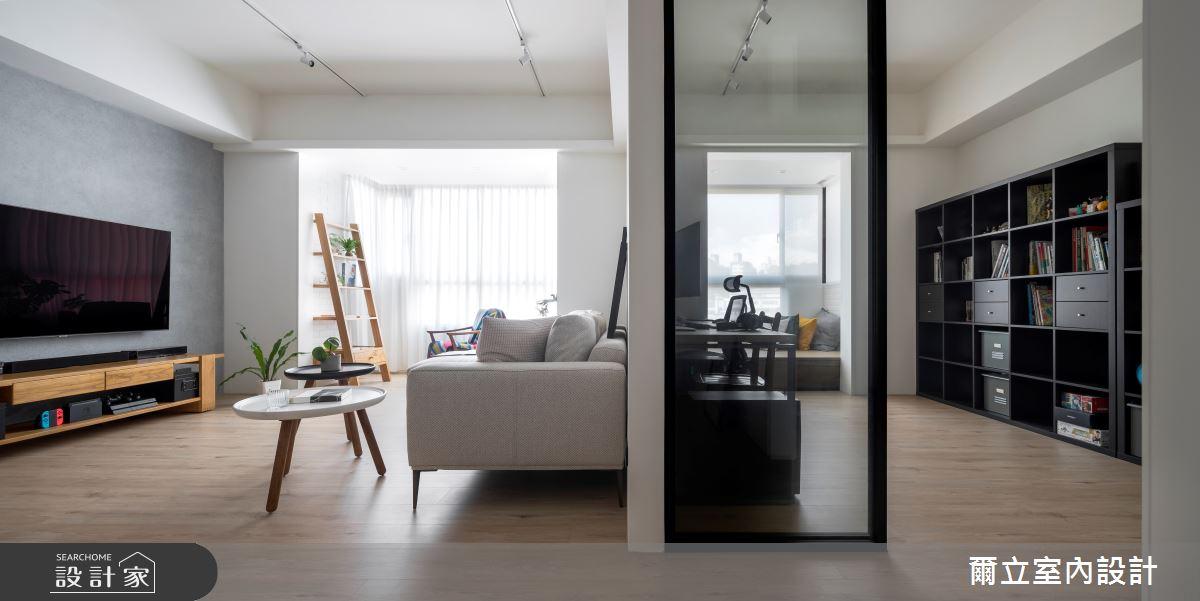 40坪中古屋(5~15年)_混搭風書房案例圖片_爾立室內設計_爾立_16之8