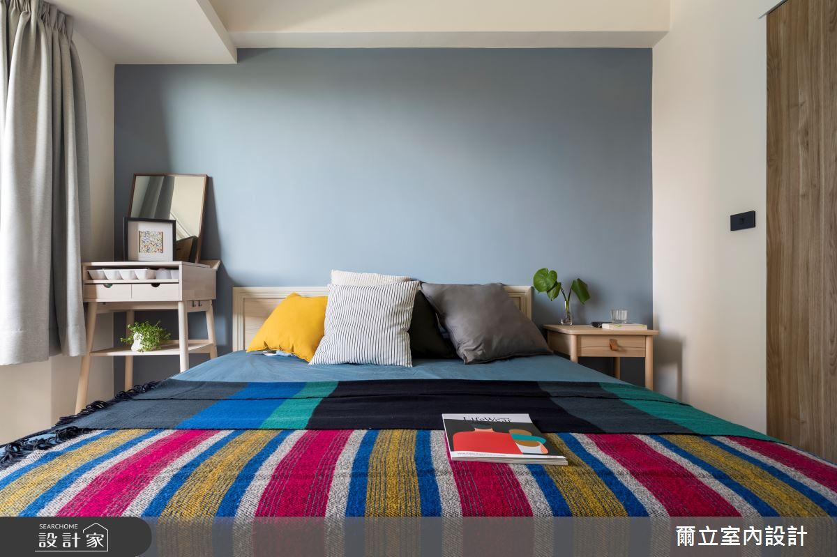40坪中古屋(5~15年)_混搭風臥室案例圖片_爾立室內設計_爾立_16之10