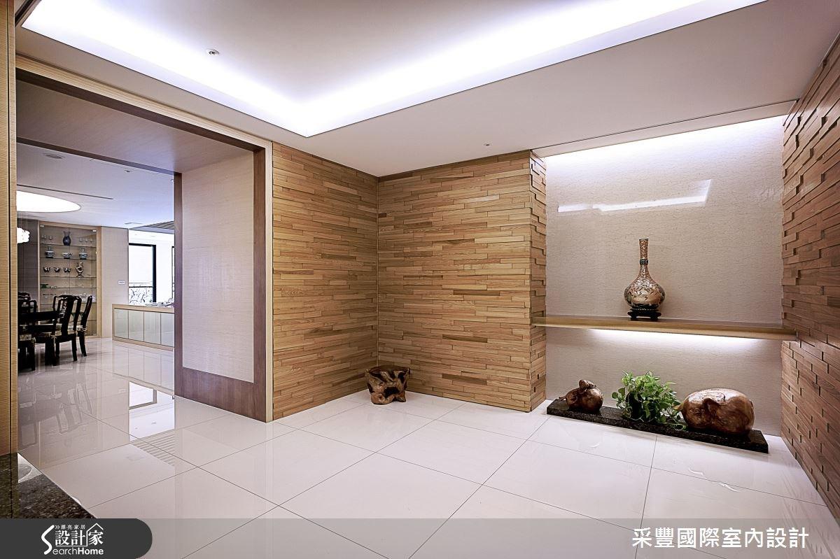 65坪新成屋(5年以下)_現代風玄關案例圖片_采豐國際室內設計_采豐_02之1