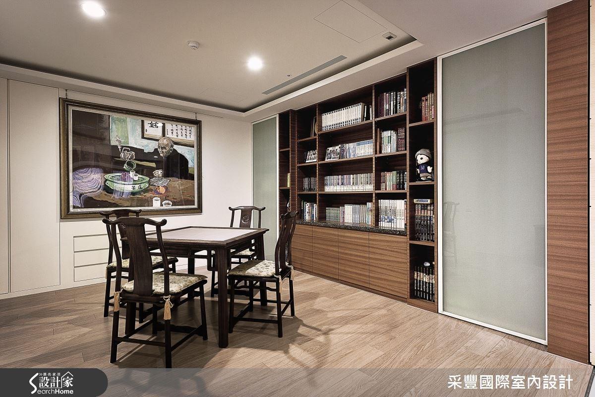65坪新成屋(5年以下)_現代風書房案例圖片_采豐國際室內設計_采豐_02之8