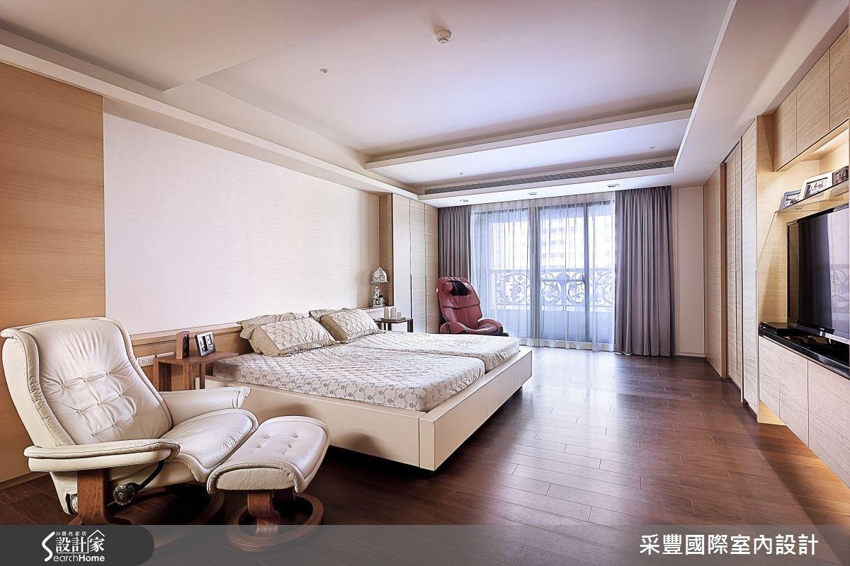 65坪新成屋(5年以下)_現代風臥室案例圖片_采豐國際室內設計_采豐_02之9
