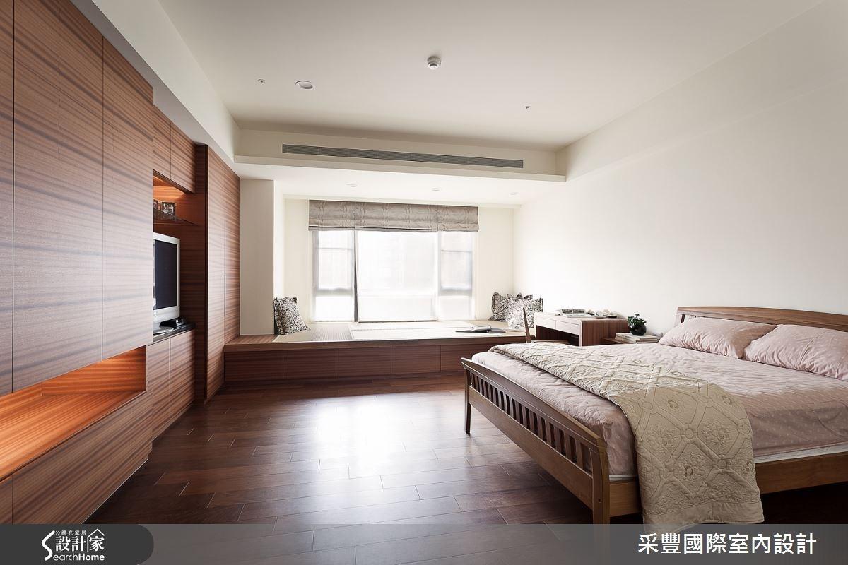 65坪新成屋(5年以下)_現代風臥榻臥室案例圖片_采豐國際室內設計_采豐_02之10