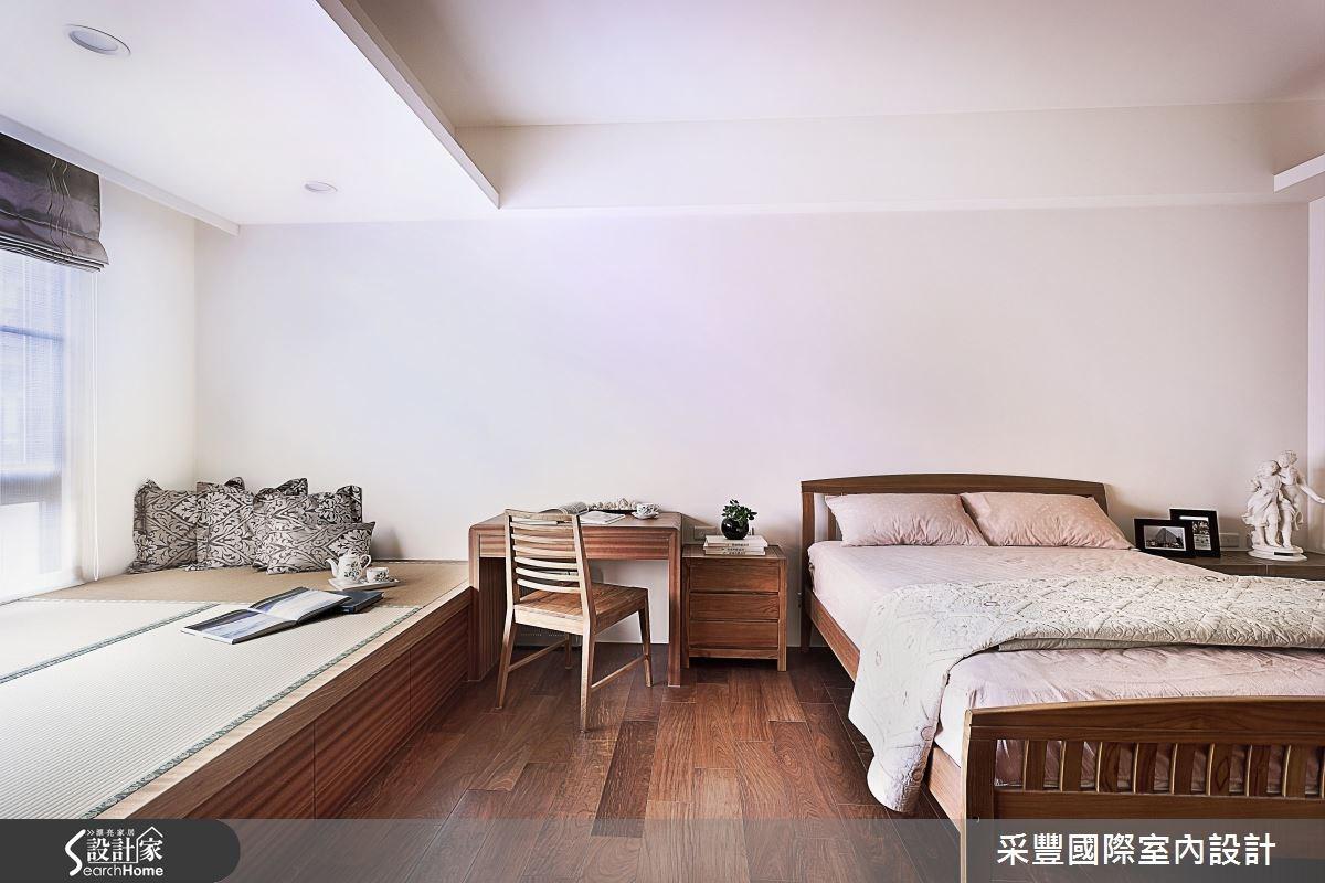 65坪新成屋(5年以下)_現代風臥榻臥室案例圖片_采豐國際室內設計_采豐_02之11
