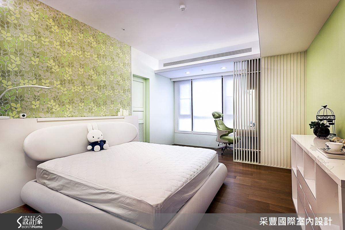 65坪新成屋(5年以下)_現代風臥室案例圖片_采豐國際室內設計_采豐_02之12