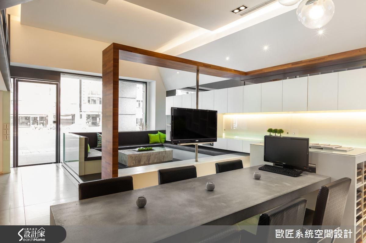 35坪新成屋(5年以下)_現代風案例圖片_歐匠系統空間設計_歐匠_01之1