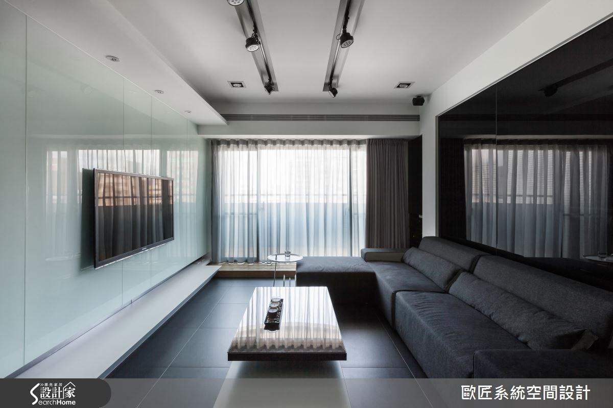 35坪新成屋(5年以下)_現代風案例圖片_歐匠系統空間設計_歐匠_03之3