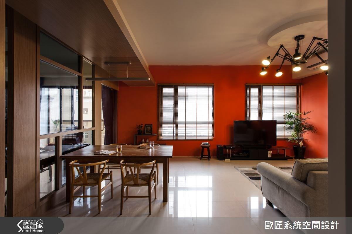 40坪新成屋(5年以下)_混搭風案例圖片_歐匠系統空間設計_歐匠_05之1